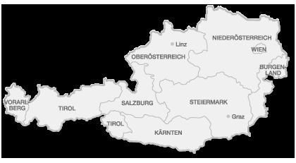 Österreich Karte